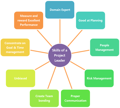 Figure 1: Requirements and roles of a Project Leader