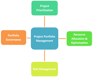 Figure 1: Key tasks involved in Project Portfolio Management